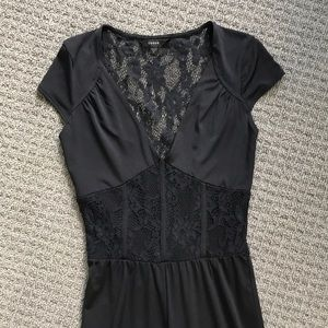 Guess women's XS lace jumpsuit